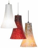 LBL HS599 Mini-Indulgent Glass 5.8  Tall Miniature Pendant Light