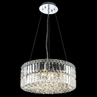 Elegant 2030D20C-RC Maxim Small 20  12-light Crystal Glass Pendant Lighting