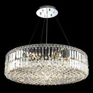 Elegant 2030D32C-RC Maxim Extra Large Crystal Pendant Lighting