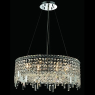 Elegant 2031D24C-RC Maxim Medium 24  Crystal Glass Pendant Lighting