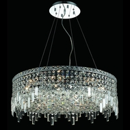 Elegant 2031D28C-RC Maxim 12-light Large Crystal Lighting Pendant