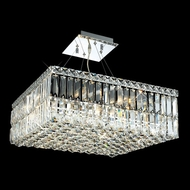 Elegant 2032D20C-RC Maxim Small 20: 12-light Crystal Hanging Light