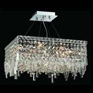 Elegant 2033D20C-RC Maxim 20  Small Crystal Pendant Drop Lighting