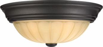 Quoizel TL183EP Tradewinds Medium 13 Inch Diameter Flush Lighting