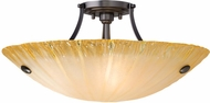 LBL JC398 Wilt Line-Voltage Xenon Semi-Flush Ceiling Light