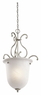 Kichler 43229NI Camerena Large Brushed Nickel 20 Inch Diameter Pendant Light Fixture
