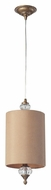 ELK 31312/1 Dalton Modern Mocha Finish Mini Lighting Pendant