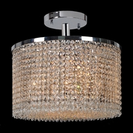 Worldwide W33745C16 Prism Large 16 Inch Diameter Ceiling Light Fixture - Crystal