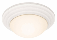 Access 20651-TWH Strata Textured White Finish 14 Inch Diameter Flush Lighting