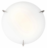 Access 20662 Zenon Medium 16 Inch Diameter Overhead Light Fixture - Brushed Steel