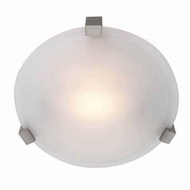 Access 50060-SAT Cirrus 8 Inch Diameter Satin Overhead Light Fixture - Small