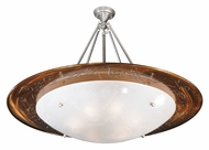 Meyda Tiffany 112662 Supernova Fused Glass 42 Inch Diameter Contemporary Ceiling Lighting