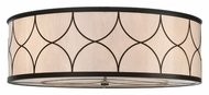 Meyda Tiffany 114701 Cilindro Deco 36 Inch Diameter Transitional Flush Lighting Fixture