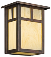 Kichler 9143CV Alameda Small Craftsman 8 Inch Tall Outdoor Pocket Wall Light Fixture
