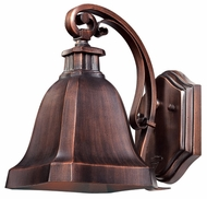 Quoizel WLD8506BD Welland Outdoor Small Copper Bell Wall Mounted Lighting Fixture