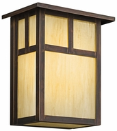 Kichler 9147CV Alameda Craftsman 10 Inch Tall Large Outdoor Pockeet Sconce - Canyon View