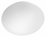 EGLO 89251A Giron Small White Glass 11 Inch Wide Wall Sconce Light