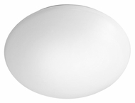 EGLO 89252A Giron Large White 15 Inch Wide Wall Light Fixture