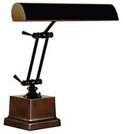 House of Troy P1420281 P14-202 Fourteen Inch Shade Piano Lamp in Mahogany Bronze