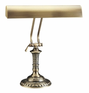 House of Troy P1424271 P14-242 Fourteen Inch Piano Lamp in Antique Brass