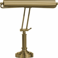 House of Troy P158051 P15-80 Fifteen Inch Shade Piano/Desk Lamp in Satin Brass