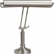 House of Troy P158052 P15-80 Fifteen Inch Shade Piano/Desk Lamp in Satin Nickel