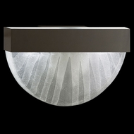 Fine Art Lamps 824550-13 Crystal Bakehouse Modern Bronze Finish Crystal Spire Wall Light Fixture