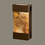 Fine Art Lamps 810850-11 Crystal Bakehouse Small Bronze Crystal Neutral Sconce Light Fixture