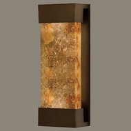 Fine Art Lamps 810950-11 Crystal Bakehouse Medium Bronze 18 Inch Tall Wall Light - Neutral Crystals