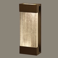 Fine Art Lamps 810950-13 Crystal Bakehouse Medium Modern 18 Inch Tall Bronze Crystal Spire Light Sconce