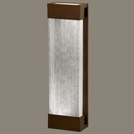 Fine Art Lamps 811050-13 Crystal Bakehouse Large Crystal Spire Bronze Finish 24 Inch Tall Lamp Sconce