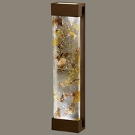 Fine Art Lamps 811150-11 Crystal Bakehouse Extra Large Bronze 30 Inch Tall Wall Lighting - Neutral
