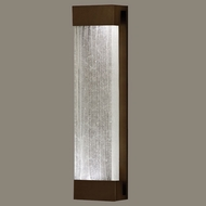 Fine Art Lamps 811150-13 Crystal Bakehouse Extra Large Modern Bronze Crystal Spire Light Sconce