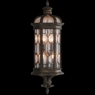 Fine Art Lamps 414981 Devonshire 29 inch outdoor coupe wall sconce in Marbella wrought iron