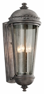 Troy B3564 Ambassador Extra Large 27 Inch Tall Aged Pewter Exterior Sconce