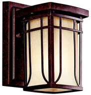Kichler 49146AGZ Riverbank Transitional Aged Bronze 8.25 Inch Tall Outdoor Wall Lighting