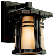 Kichler 49174 North Creek Craftsman Bronze 8.5 Inch Tall Outdoor Wall Lighting