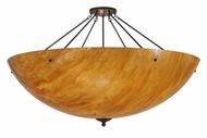 Meyda Tiffany 106737 Madison 48 Inch Diameter Semi Flush Bowl Ceiling Light - Timeless Bronze
