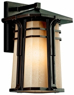 Kichler 49176 North Creek 16.5 Inch Tall Craftsman Outdoor Sconce Lamp