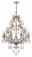 Corbett 163-08 Amadeus Large 53 Inch Tall Crystal Chandelier Lighting - Vienna Bronze