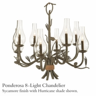 Kalco 5031 Ponderosa 8-Light Chandelier