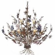 ELK 9108-6+3 Brillare Rustic 9-Light Chandelier