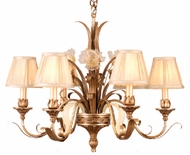 Corbett 49-06 Tivoli 6 Light Rustic Chandelier