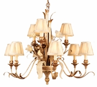 Corbett 49-09 Tivoli 9 Light Rustic Chandelier