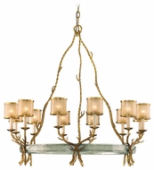 Corbett 66-012 Parc Royale 12 Light Rustic Chandelier