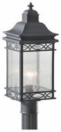 Feiss OL8007FOG Liberty Small Outdoor Pier/Post Mount Light Fixture