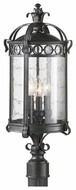 Feiss OL7808BSB Chancellor Large Exterior Pier/Post Mount Lamp