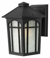 Hinkley 1980BK-LED Cedar Hill LED Black Finish 9 Inch Tall Small Outdoor Wall Lighting
