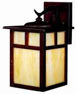 Kichler 10961CV Alameda Medium 12 Inch Tall Craftsman Style Outdoor Wall Sconce