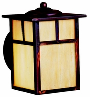 Kichler 10962CV Alameda Fluorescent 7 Inch Tall Small Craftsman Exterior Light Sconce